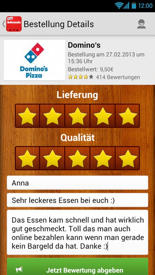 photo Wallpaper of Takeaway.com-Lieferando.de: Essen Bestellen-