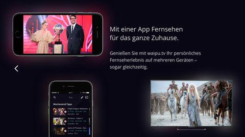 photo Wallpaper of EXARING AG-Waipu.tv – Live Fernsehen Auf Fire TV-