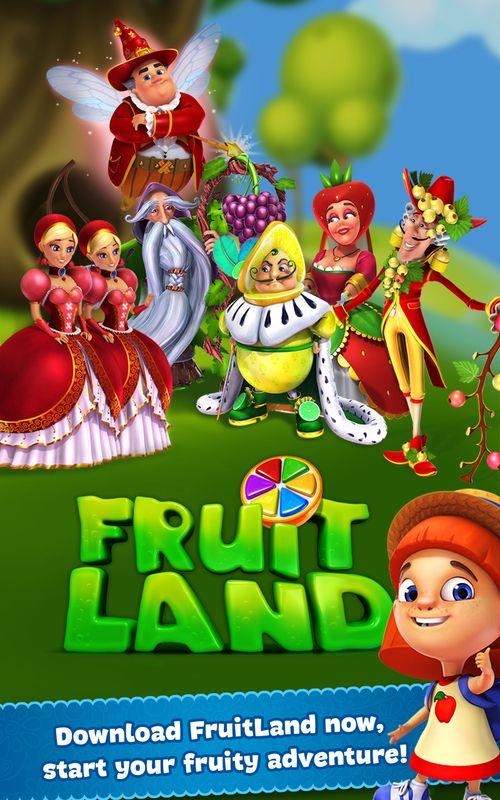 photo Wallpaper of Plarium-Fruit Land – Match 3 Abenteuer-