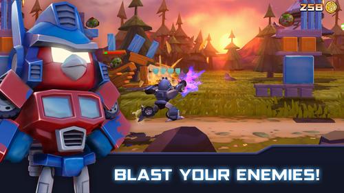 photo Wallpaper of Rovio Entertainment Corporation-Angry Birds Transformers-