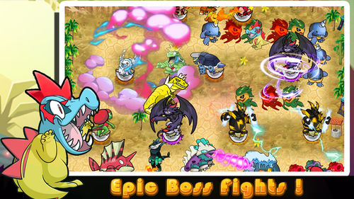 photo Wallpaper of Play Spirit Limited-Cutie Monsters Tower Defense-