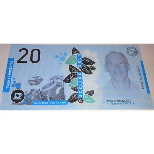 Puzzeta $20 Voucher