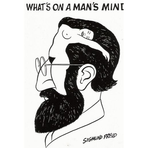 Poster - Whats on a Mans Mind