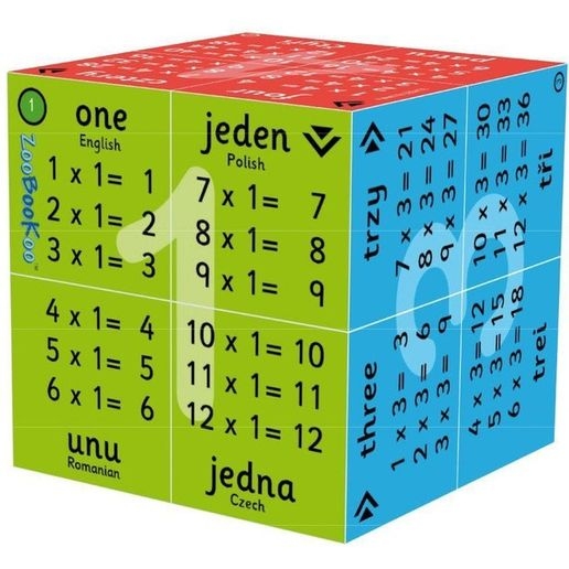Zoobooku Cube - Multiplication