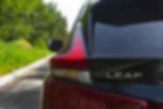 Аэродинамически переработанная задняя стойка Nissan Leaf. Фото: Александра Ершова