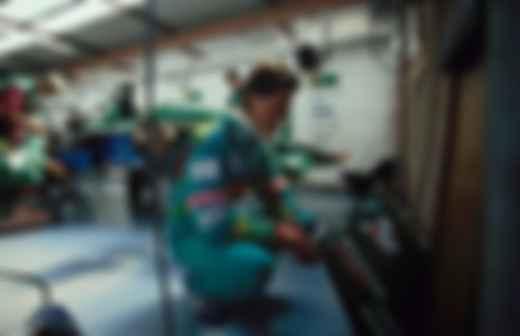 Михаэль Шумахер во время дебютной гонки Ф-1 на бельгийской Спа-Франкоршам. 25.08.1991. Фото: Райнер Шлегельмильх