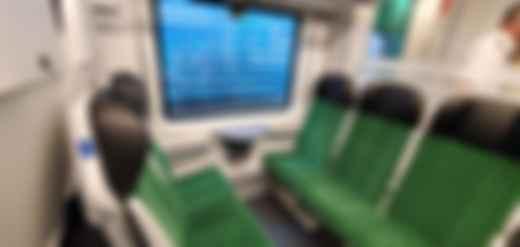 Як виглядає поїзд Stadler FLIRT. Фото: Уляна Букатюк / liga.net