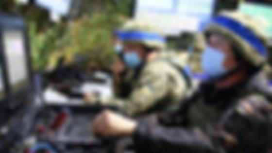 Украинский военный (фото: МО)