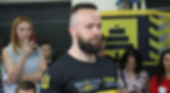 Иван Рудый в составе украинской сборной на «Играх непокоренных». Фото: Facebook
