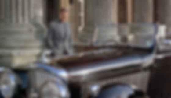 Шон Коннері і Bentley 4¼ Litre у фільмі Never Say Never Again. Фото: imdb