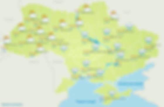 Прогноз погоды 1 июня в Украине. Скриншот «Укргидрометцентр»