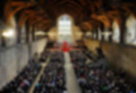Сводчатый потолок парламентского зала Вестминстерского дворца. Фото: Jaguar Land Rover