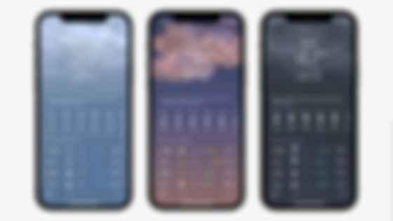 Обновление погоды в iOS 15. Фото: Apple