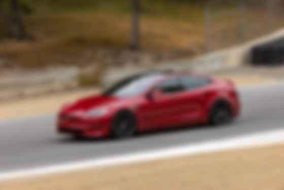 Tesla Model S Plaid під час тестів. Фото: The Kilowatts