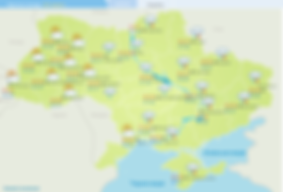 Прогноз погоди на 28 червня. Карта: Укргідрометцентр