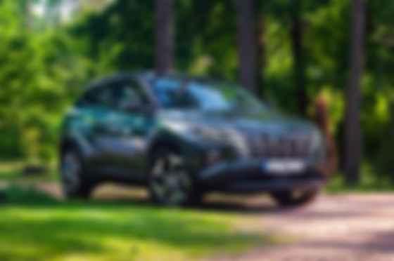 Стиль Hyundai Tucson — подбор «неправильных» форм, связанных между собой неким математическим алгоритмом. Фото: Hyundai
