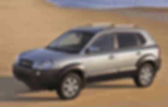 Hyundai Tucson первого (2004 — 2009 гг.) поколения, выпускавшийся в Черкассах до 2011 г. Фото: Hyundai