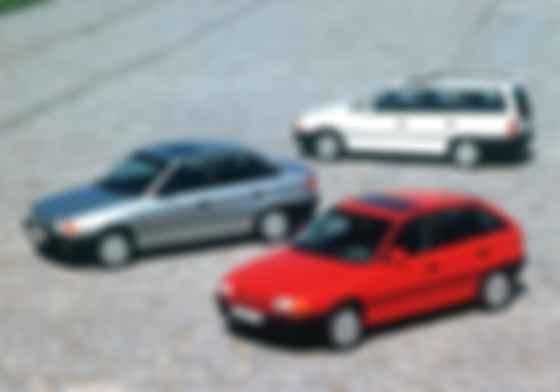 Opel Astra с первого же года выпуска стала феноменально популярной. Фото: Opel