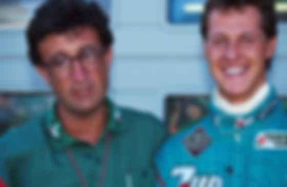Михаэль Шумахер и Эдди Джордан, в команде которого немец дебютировал в Ф-1. Фото: Motorsport