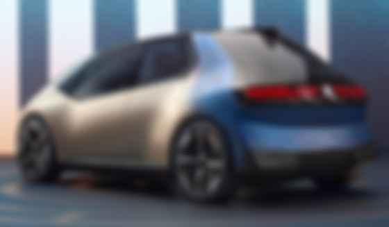 Вместо обычной окраски кузов BMW i Vision Circular анодирован, отсюда и благородный бронзовый отлив. Фото: BMW