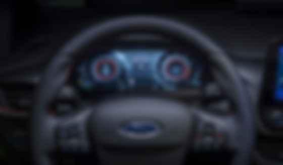Главное изменение в салоне Ford Fiesta — настраиваемая 12,3-дюймовая приборная панель. Фото: Ford