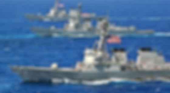 Корабли США (фото из открытых источников)