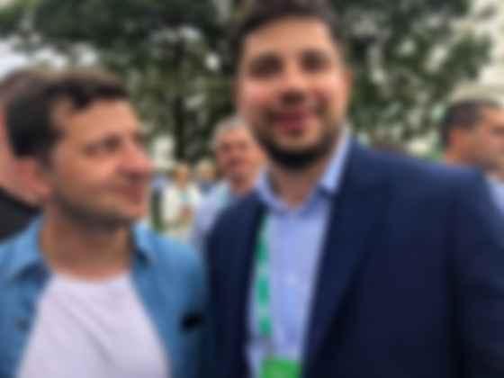 Олександр Качура і Володимир Зеленський (фото: Facebook Качура)