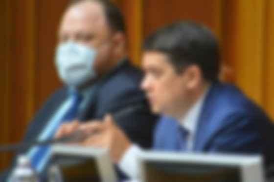 Дмитрий Разумков и Руслан Стефанчук (фото из открытых источников)