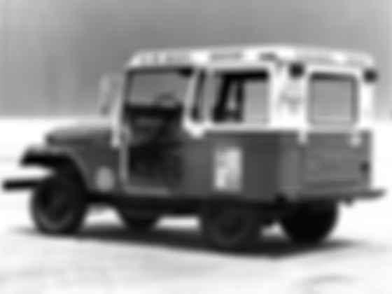 Одноместный Jeep DJ 1955 года. Как видите, первый DJ появился задолго до рождения самой диджейской профессии. Фото: US Mail