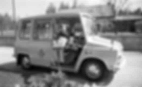 Созданный для Скандинавии Kalmar KVD Tjorven оснащался водительским креслом с бензиновой печкой и системой выхлопа. Фото: Posten AB
