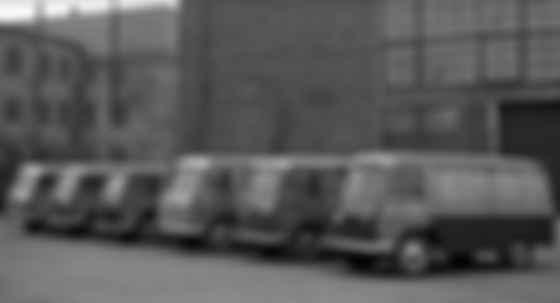Первый «розеточный» электрокар СССР ЛАЗ-НАМИ 1951 года. В Deutsche Post к такому формату почтовых фургонов пришли только сейчас. Фото: НАМИ