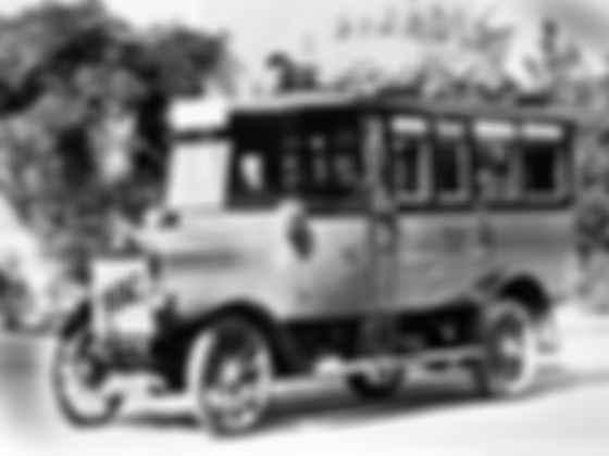 Один из первых специализированных «почтальонов» — Benz-Gaggenau Typ 2 C Reichspost-Omnibus 1921 года