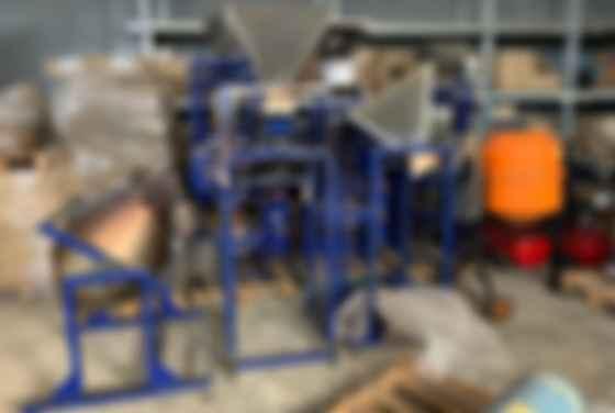 Оборудование, конфискованное у фирмы по производству поддельной продукции. Фото:  ЕБА
