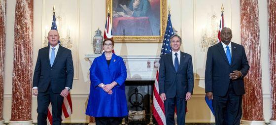 Представители США, Англии и Австралии (фото из открытых источников)