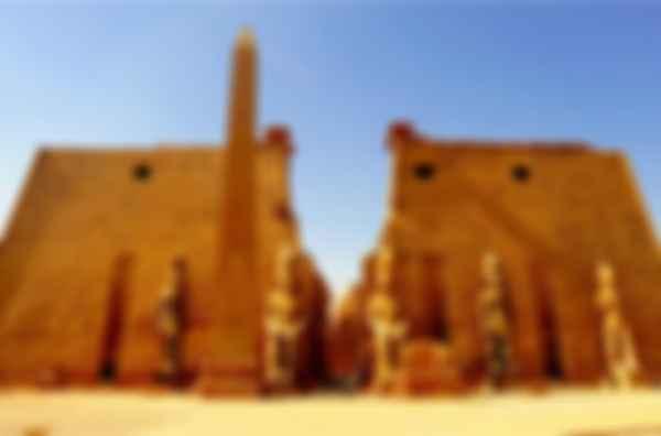 Храмовый комплекс Луксора. Фото: ETA