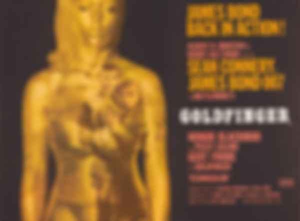 Постер фільму «Голдфінгер». Фото: MGM