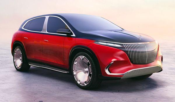 Mercedes-Maybach EQS Concept: видео, фото и первые подробности. Фото: Daimler AG