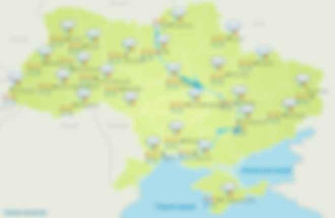 Прогноз погоды на 13 июня. Фото: Укргидрометцентр
