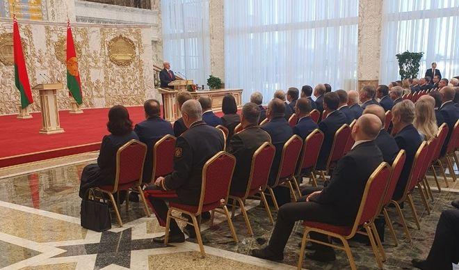 Инаугурация Лукашенко. Фото: twitter/tut.by