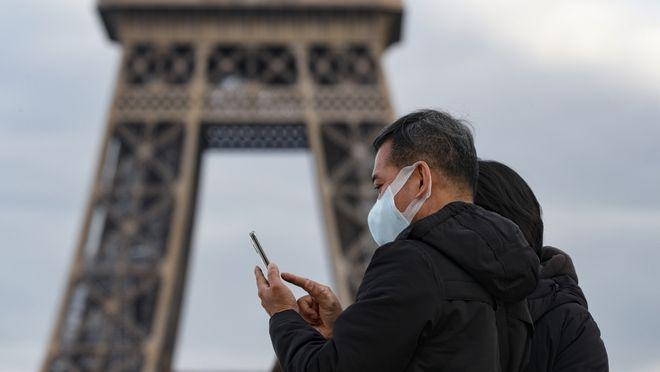 У Франції — сплеск захворюваності на COVID-19. Фото: Al Jazeera