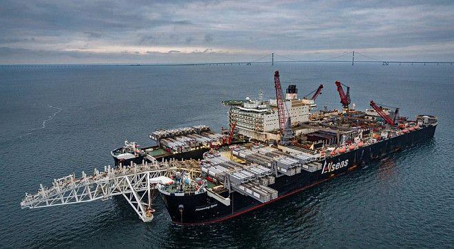 «Газпром» допустив призупинення будівництва «Північного потоку — 2». Фото: Фото: nord-stream2.com