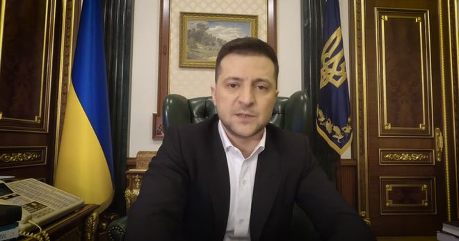Скріншот виступу президента Зеленського/youtube