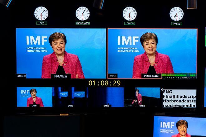 Глава МВФ Кристалина Георгиева. Фото: IMF