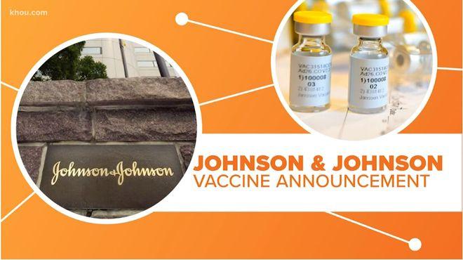 Вакцина от коронавируса Johnson & Johnson (J&J) рекомендована  к применению в США. Фото: скриншот