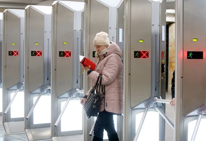 Work of the metro in Kyiv during lockdown. Photo: UNIAN
