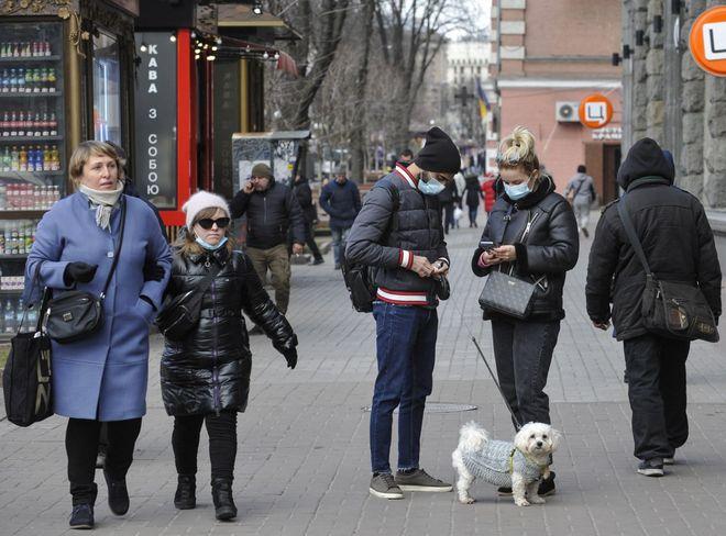 Какие штрафы в Украине за нарушение масочного режима? Фото: УНИАН