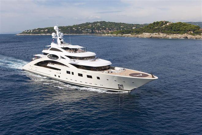 Косюк продає яхти за $170 млн для оплати боргів МХП. Фото: atlanticyachtandship