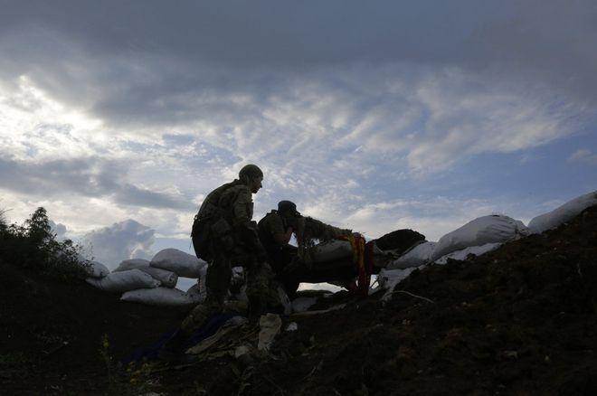 Война на Донбассе в 2021 году. Фото: УНИАН