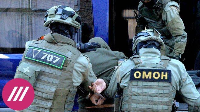 "Detention of ""Wagnerites"" in Belarus. Photo: screenshot"