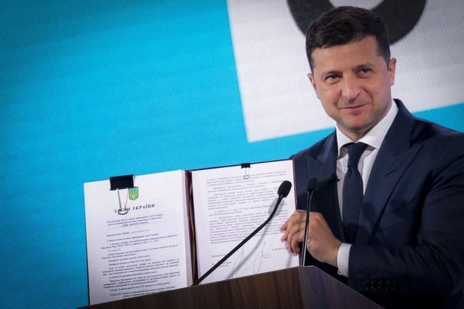 Land market: massive thefts and a new law. Photo: Volodymyr Zelenskyy / Office of the President